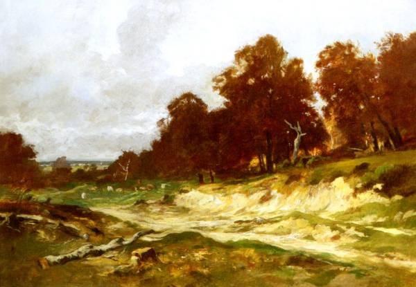 Landschaft Bei Barbizon